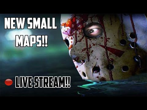 Friday the 13th ! NEW SMALL MAPS !! NEW KILLS! NEW PATCH UPDATE ! * LIVE STREAM*