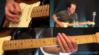 Sweet Emotion Guitar Lesson Pt.1 - Aerosmith - Rhythm Guitar Parts