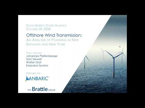 The Costs and Benefits of Offshore Wind Transmission Options (10.23.2020)