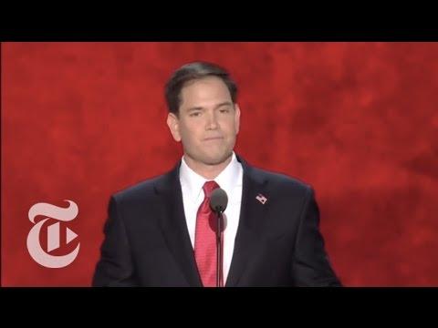 Election 2012   Senator Marco Rubio's R.N.C. Speech   The New York Times