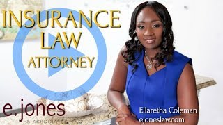 Meet Attorney Ellaretha Coleman | Insurance Law | E. Jones & Associates | Georgia and Florida