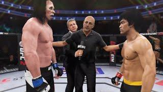 Bruce Lee vs. Zombie Walker (EA Sports UFC 2) - Epic Battle