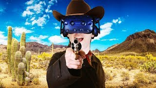 Robbing a Bank in Virtual Reality! - Westard Gameplay - VR HTC Vive Pro