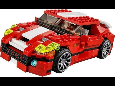 lego creator voiture de sport jouets pour les enfants youtube. Black Bedroom Furniture Sets. Home Design Ideas