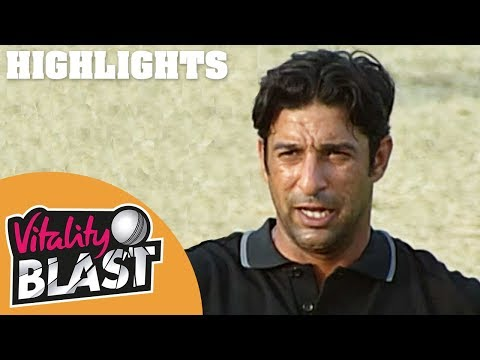 The First Ever T20 Match | Highlights | Blasts From The Past