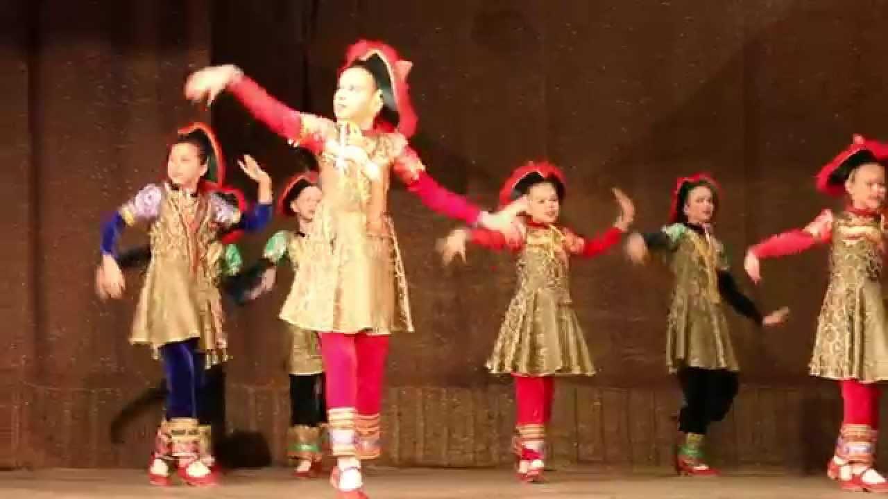 Юность Сибири - Бурятский танец Тюльпан