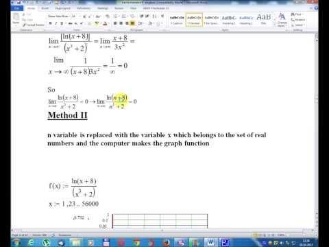 Lesson number nine -Mathematical Analysis -Volume I