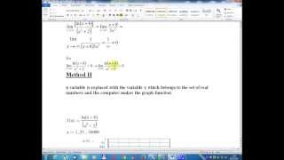 Lesson number nine -Mathematical Analysis -Volume I