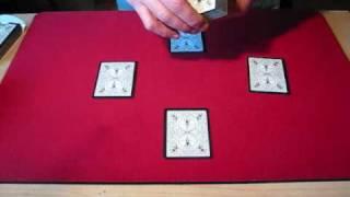 inverted elevator card trick by robert moreland