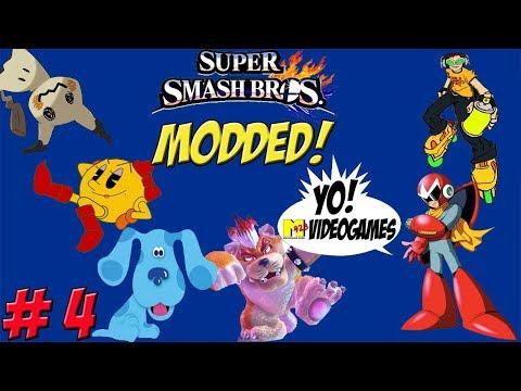 Super Smash Bros. for Wii U! 8 Player Modded Part 4 - YoVideogames