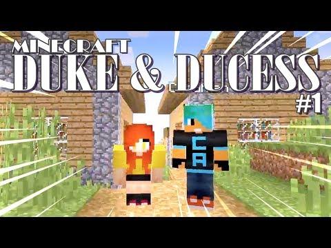 The Foundation Day! 👑 Duke & Duchess EP1 - Minecraft Survival Adventure