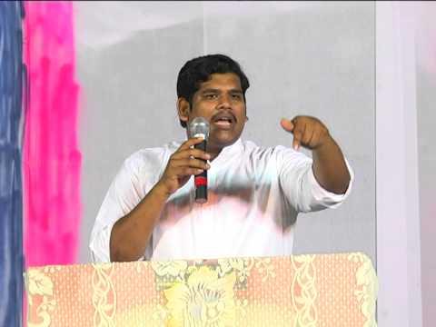Telugu Christian Message by John Mangacharyulu in Jaggayyapet HD