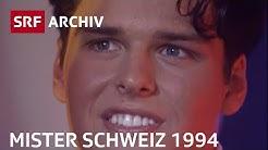 1. Mister-Schweiz-Wahl (1994) | Schönheitswettbewerb für Männer | SRF Archiv