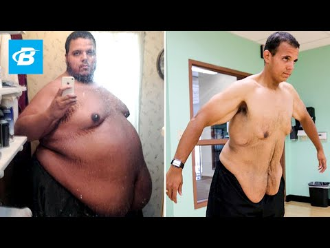 Man loses 400 pounds (650 -> 250!!!) with the help of internet strangers