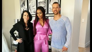 Bonang Matheba invites Top Billing into her new home | FULL FEATURE