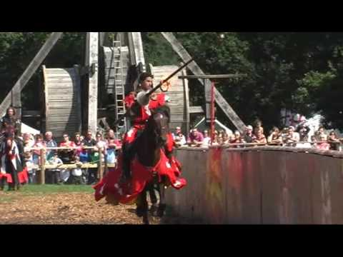 Return of the knights - Warwick Castle