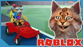 Buying a Car in Roblox Yard Work Simulator