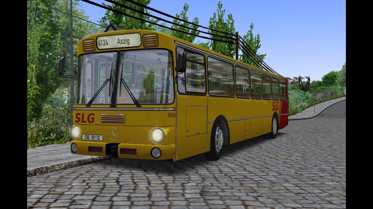 OMSI 2  Map Ettbruck, Line 4124, Mercedes-Benz O307