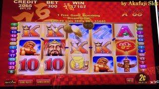 JACKPOT🍀 LUCKY 88 Real Revenge Handpay🍀2c Denom Slot Machine Bet$6, San Manuel, Akafuji slot