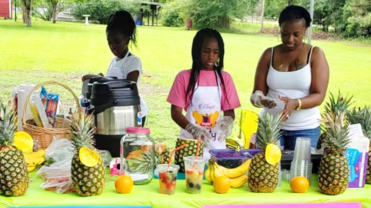 Teens Help Sister With Sickle Cell by Starting a Business