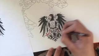 Скачать Timelapse Of Me Drawing The Coat Of Arms Of The German Empire