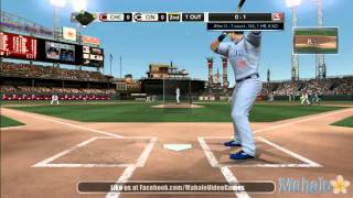 MLB 2K11 - MLB Today Sept. 15th, 2011 - Chicago Cubs at Cincinnati Reds - 2nd Inning