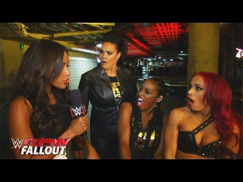 Sasha Banks denies tapping out to Becky Lynch: Raw Fallout, November 23, 2015