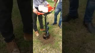 Harbor freight auger 63022 test and review