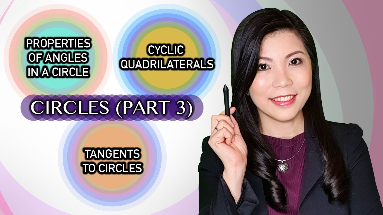 CIRCLES | Properties of Angles in a Circle, Cyclic Quadrilaterals and Tangents to Circles