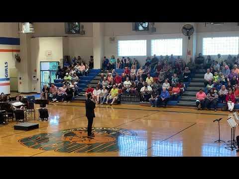 "Smokey Road Middle School Jazz Band Performs ""Gospel"""