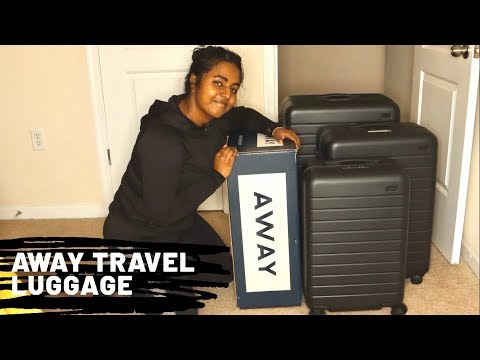 Away Travel Luggage Unboxing    Big Carryon Medium and Large Baggage   Is it Worth $725?