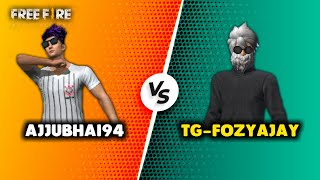Ajjubhai94 vs FozyAjay Aukat ki Bat Best Clash Battle Who will Win - Garena Free Fire