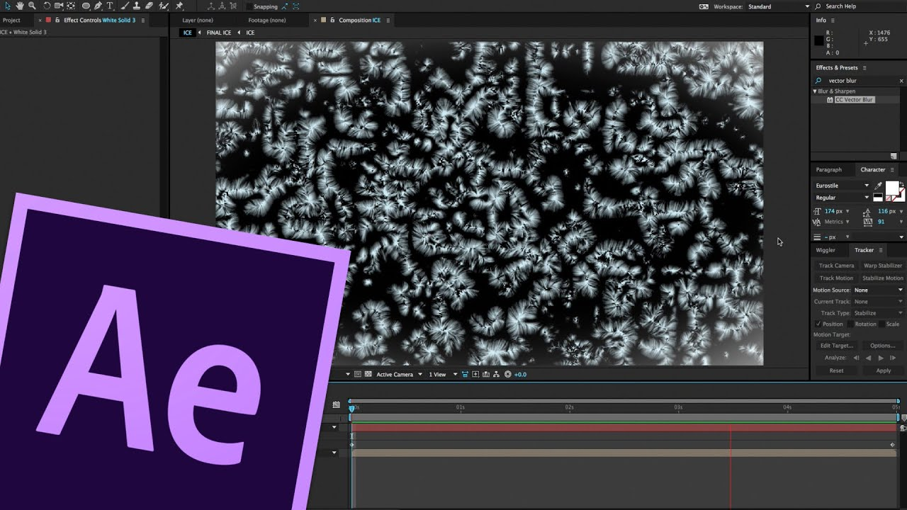Ⓗ turning water into ice zach king│adobe after effects tutorial.