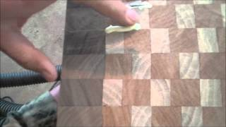 Fixing Cracks In Cutting Boards