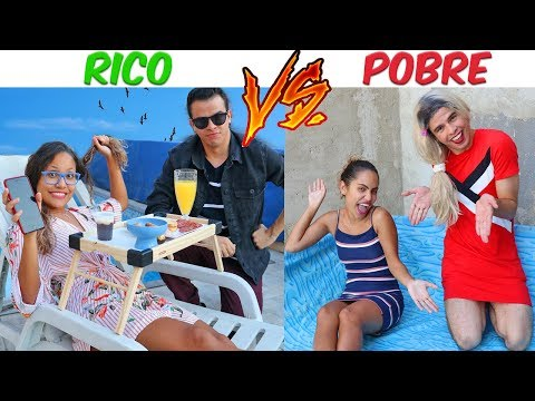 RICO VS POBRE - DIA DAS CRIANÇAS! - KIDS FUN thumbnail