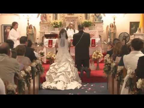 Wedding Video   Holy Cross Catholic Church in Corpus Christi Texas HD