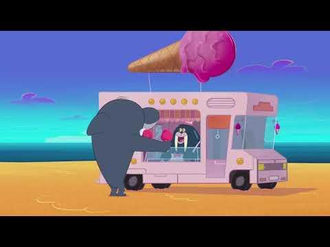 Зиг и Шарко | подборка поставщиков мороженого  | русский мультфильм | дети видео | мультфильмы |