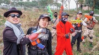 LTT Game Nerf War : Sniper Task Force Warriors SEAL X Nerf Guns Fight Rocket Crazy