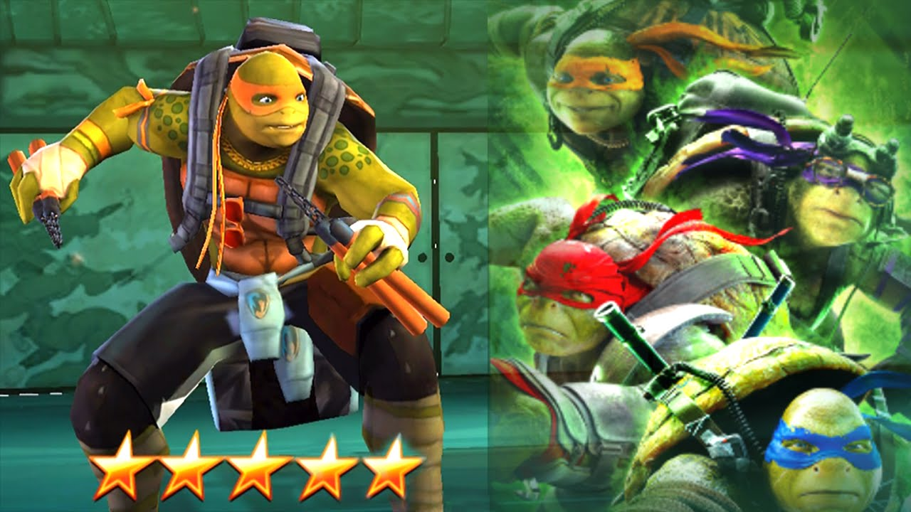 Teenage Mutant Ninja Turtles Legends Michelangelo Movie Tournament Top 1 Players Youtube