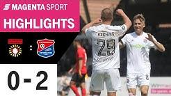SG Sonnenhof Großaspach - SpVgg Unterhaching | 28. Spieltag, 2019/2020 | MAGENTA SPORT