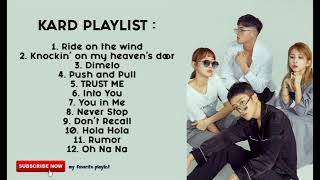 KARD playlist song full album