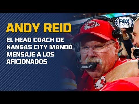 """Andy Reid en FOX Sports: """"Los amamos México"""""""