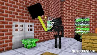 Monster school RIP herobrine part 2 minecraft animation