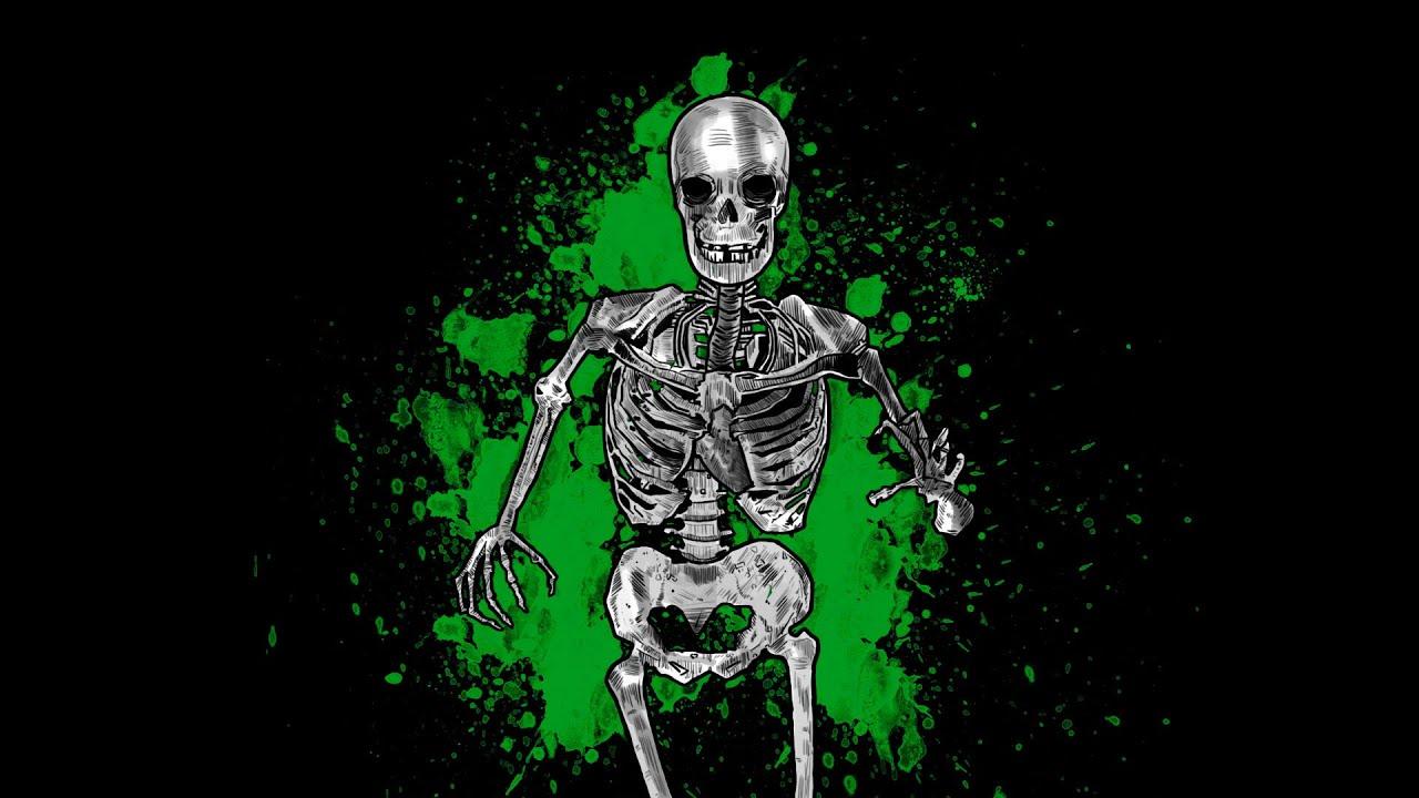 Выбрать обои на телефон скелет