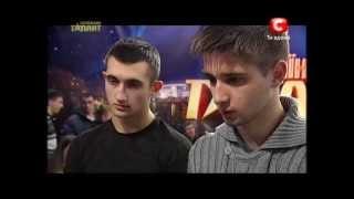Украина мае талант 5 - Футбольный фристайл