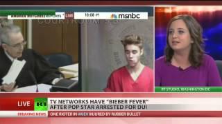 Repeat youtube video MSNBC interrupts congresswoman for 'Bieber Fever'