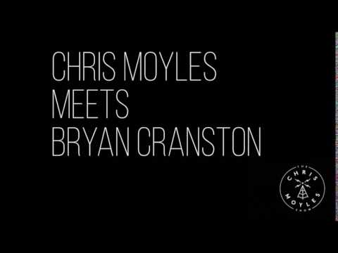 Chris Moyles meets Bryan Cranston