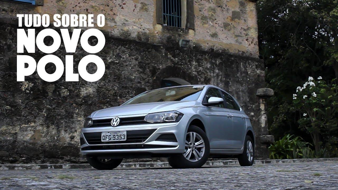4805411b57 Avaliação em detalhes com o Novo Volkswagen Polo 1.0 MPI 2018 - YouTube