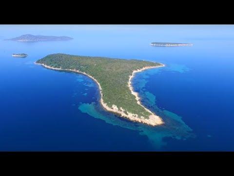 Havadan Çeşmealtı ada turu Urla - İzmir