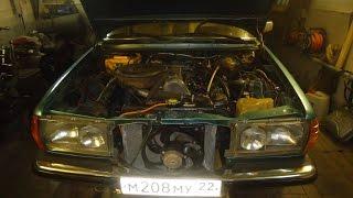 Мерседес 123,замена двигателя 110 бензин на 617 дизель .